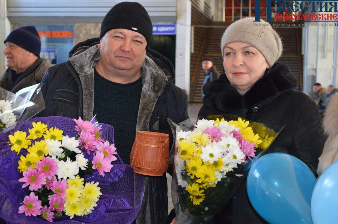 Николаевцы встретили чемпиона Паралимпийских игр